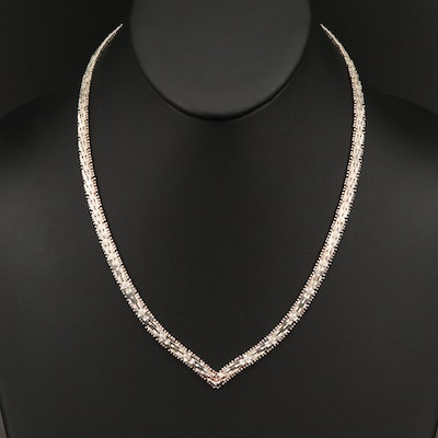 Sterling Riccio Chain Necklace
