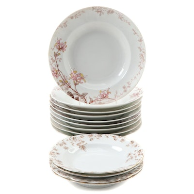 Haviland & Co. Limoges Porcelain Dinnerware, Late 19th/Early 20th C.