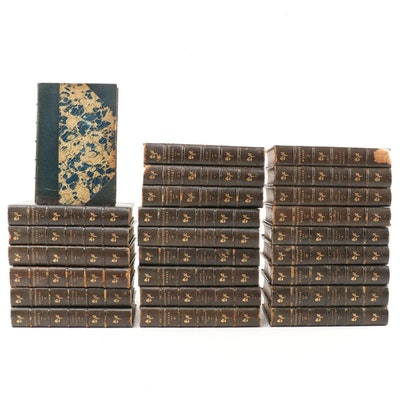 """Thackeray's Works"" Special Biographical Edition Twenty-Five Volume Set, 1900"