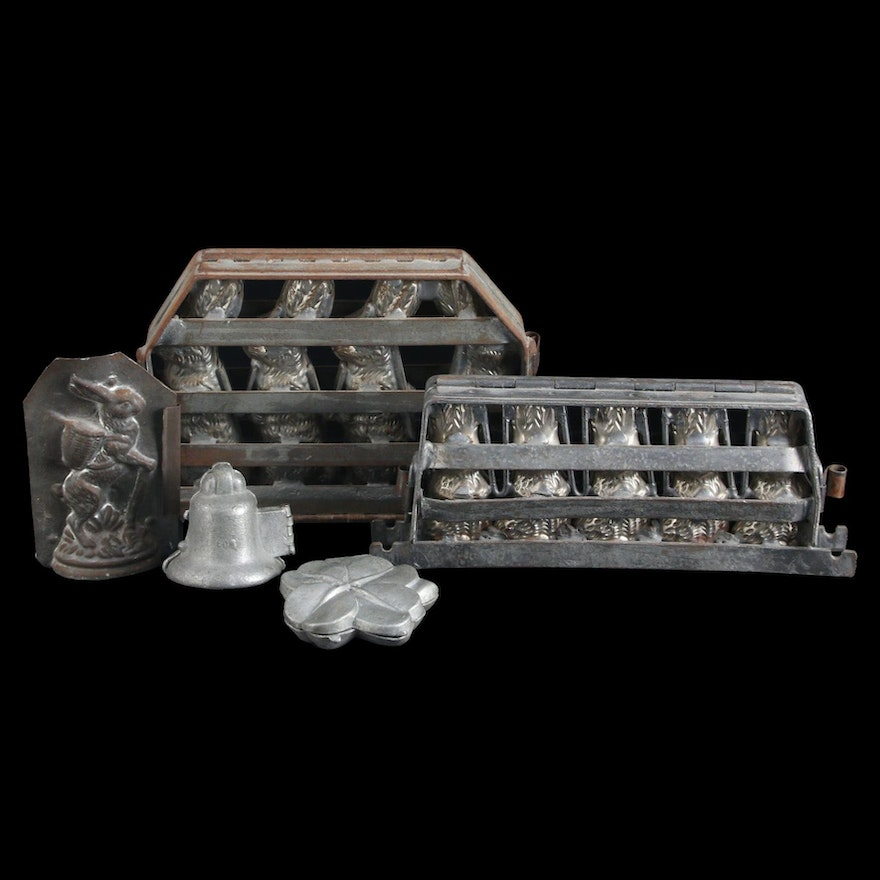 Eppelsheimer & Co. and Other Metal Chocalate Molds