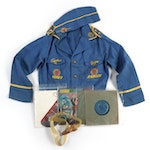 """""""Captain Video"""" Ranger Outfit with Space Compass, Cap, Electronic Goggles, 1950"""