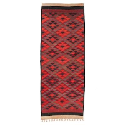 4'8 x 12'7 Handwoven Afghan Kilim Long Rug