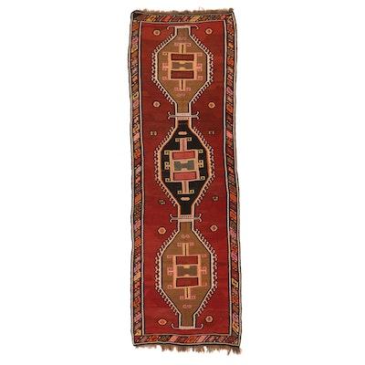 4'6 x 14'4 Handwoven Afghan Kilim Long Rug