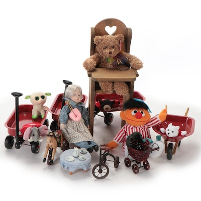 """Tyco """"Ernie Sing & Smore,"""" Radio Flyer Wagons, """"LaLa"""" Beanie Boo, and Other Toys"""