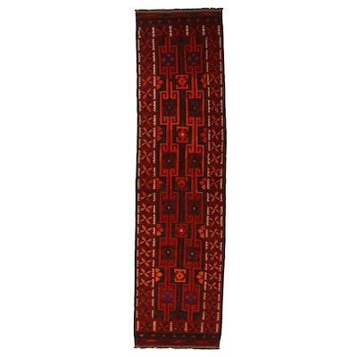 4'4 x 16'7 Handwoven Afghan Kilim Long Rug