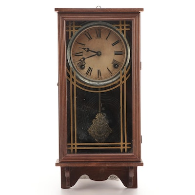 Art Deco Style Sessions Wall Clock, Early to Mid 20th Century