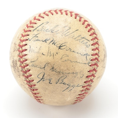 1940 Cincinnati Reds Signed Baseball