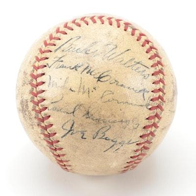 1940 Cincinnati Reds Signed Baseball