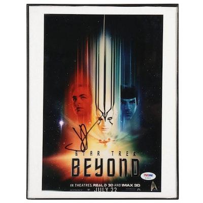 """J. J. Abrams Signed """"Star Trek Beyond"""" Framed Photo Print, PSA/DNA COA"""