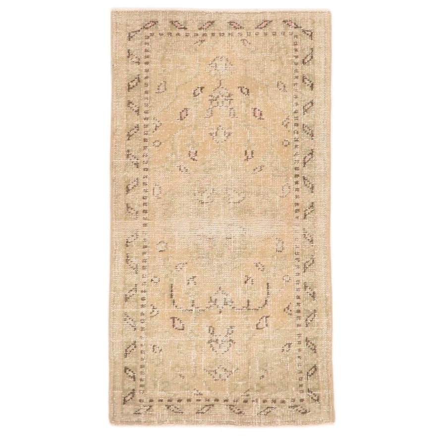 2'3 x 4'4 Hand-Knotted Turkish Oushak Accent Rug