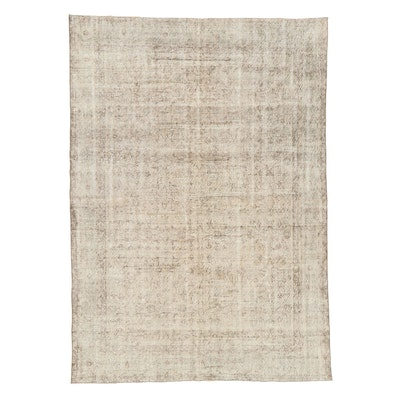 6'9 x 9'6 Hand-Knotted Turkish Sparta Wool Area Rug