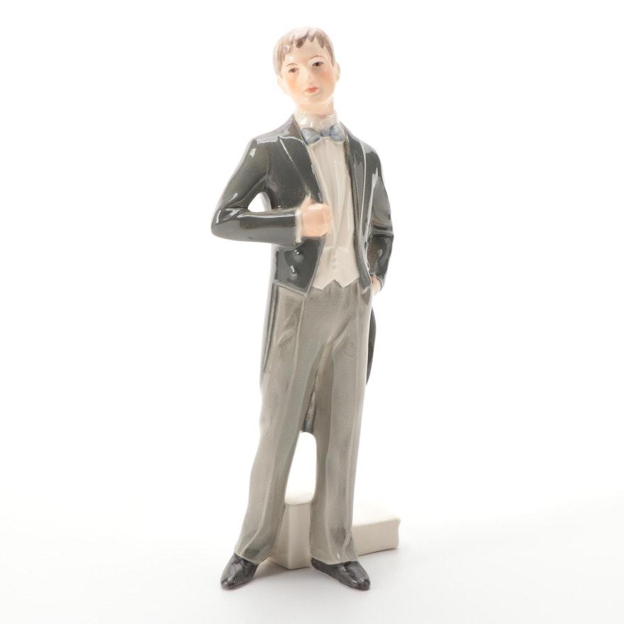 "Goebel ""The Promise"" Porcelain Figurine, Mid-20th C."