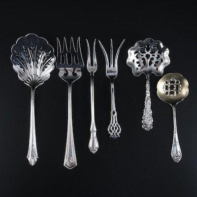 Gorham, Towle and Other Sterling Silver Serving Utensils