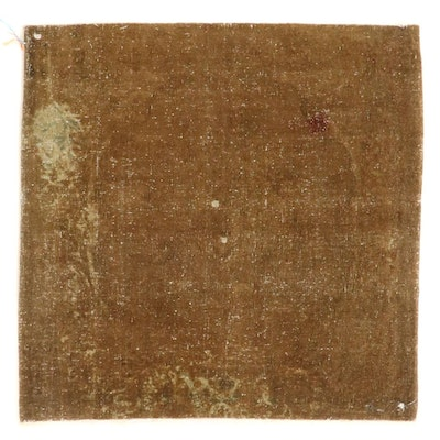 3'4 x 3'4 Hand-Knotted Sivas Wool Accent Rug