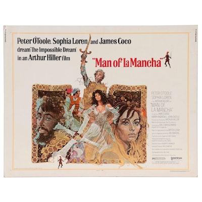 """Man of La Mancha"" Offset Lithograph One-Sheet Film Poster, 1972"