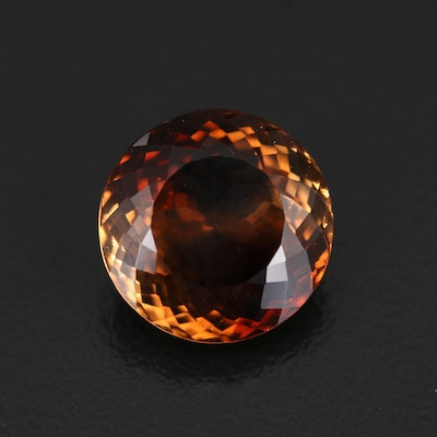 Loose 13.91 CT Round Faceted Topaz