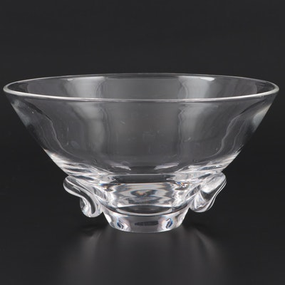 "Steuben Art Glass ""Talisman"" Bowl, Mid-20th Century"