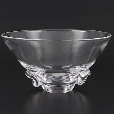 "Steuben Art Glass ""Talisman"" Bowl, Mid-20th Century"