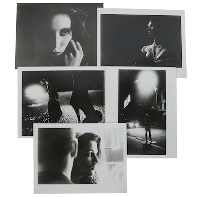 "Silver Gelatin Prints after Films ""Bought & Sold"" and ""Requiem for a Whore"""