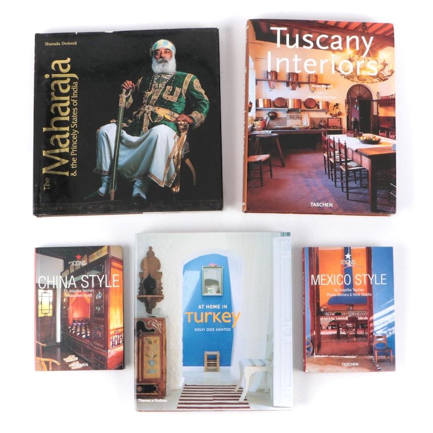 """Tuscany Interior"" and More Architecture and Interior Design Books"