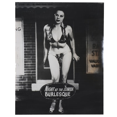 """Showgirl Photographic Print """"Night at the Zomba Burlesque"""""""