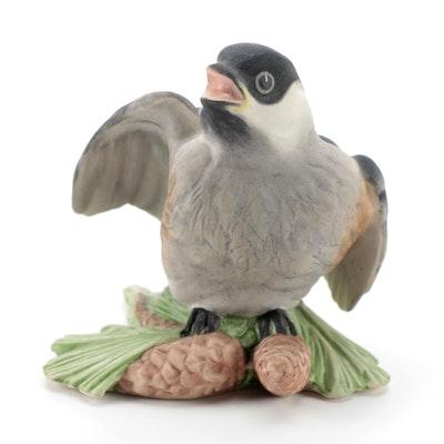 "Boehm ""Baby Chickadee"" Porcelain Figurine"