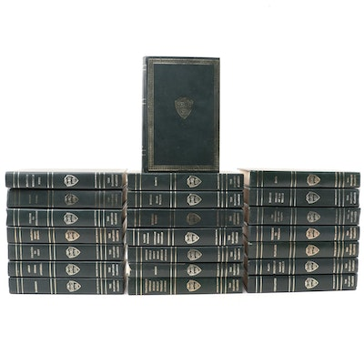 """The Harvard Classics"" Deluxe Registered Edition Partial Set, 1937"