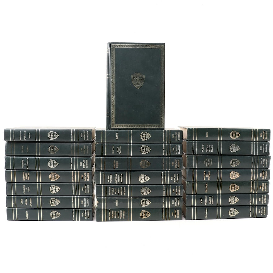 """""""The Harvard Classics"""" Deluxe Registered Edition Partial Set, 1937"""