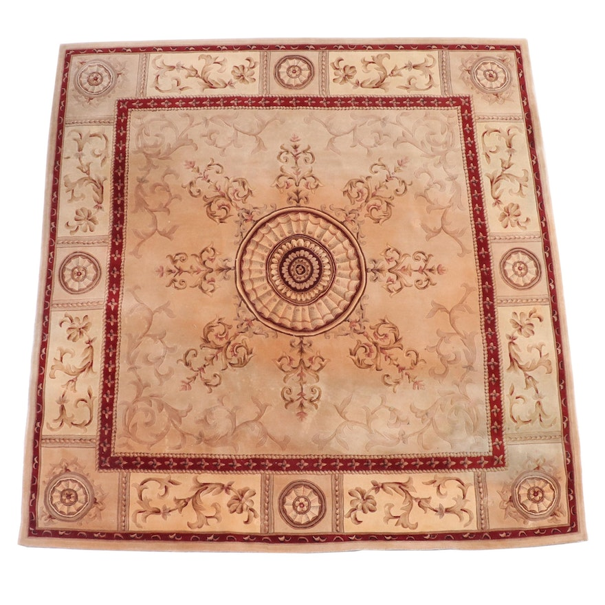 """8' x 8'2 Hand-Tufted Nourison """"Versailles Palace"""" Collection Area Rug"""