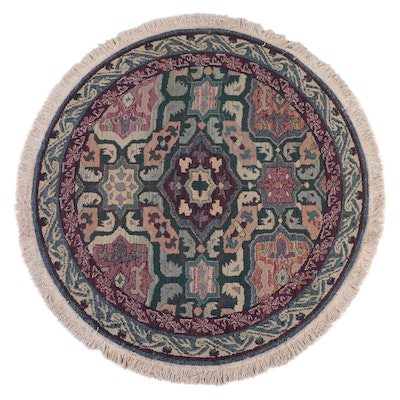 """5'3 Round Power Loomed Oriental Weavers """"Gabbeh Collection"""" Area Rug"""