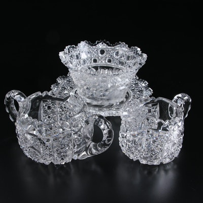 Cut Crystal Table Accessories