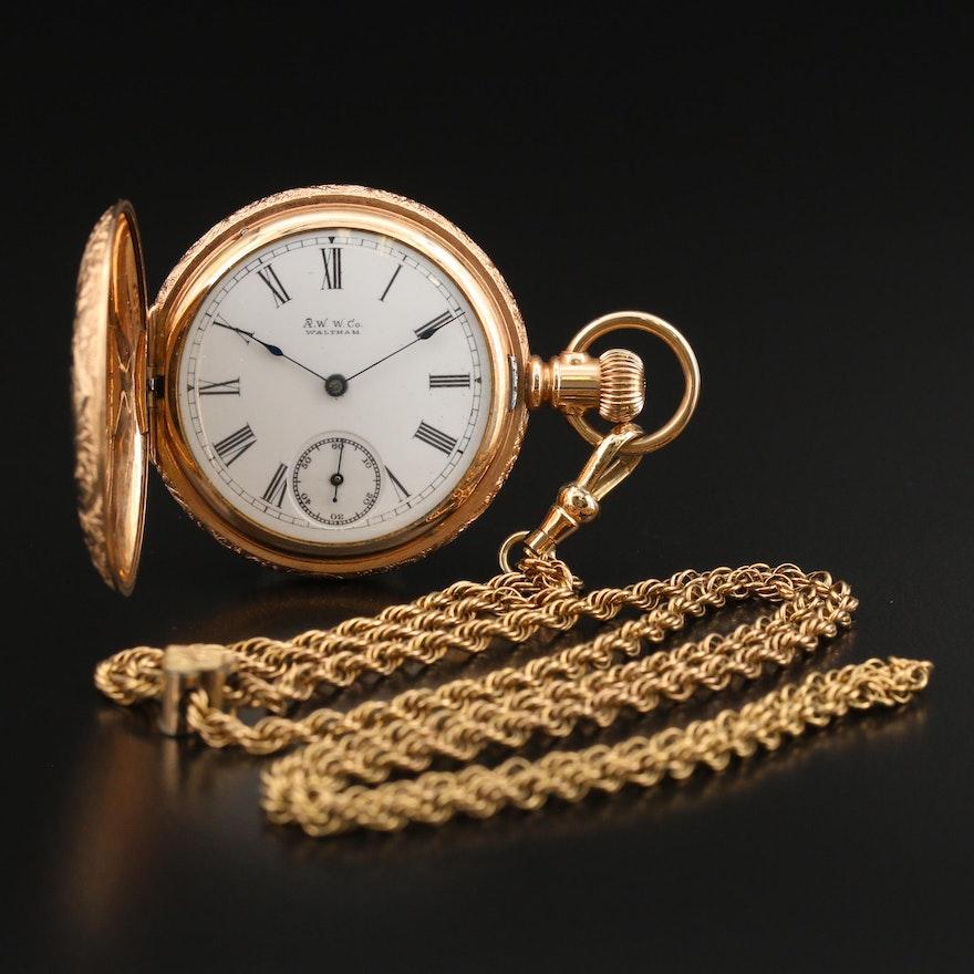 1891 Waltham A.W.W. Co. Pocket Watch