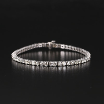 14K 6.02 CTW Diamond Line Bracelet