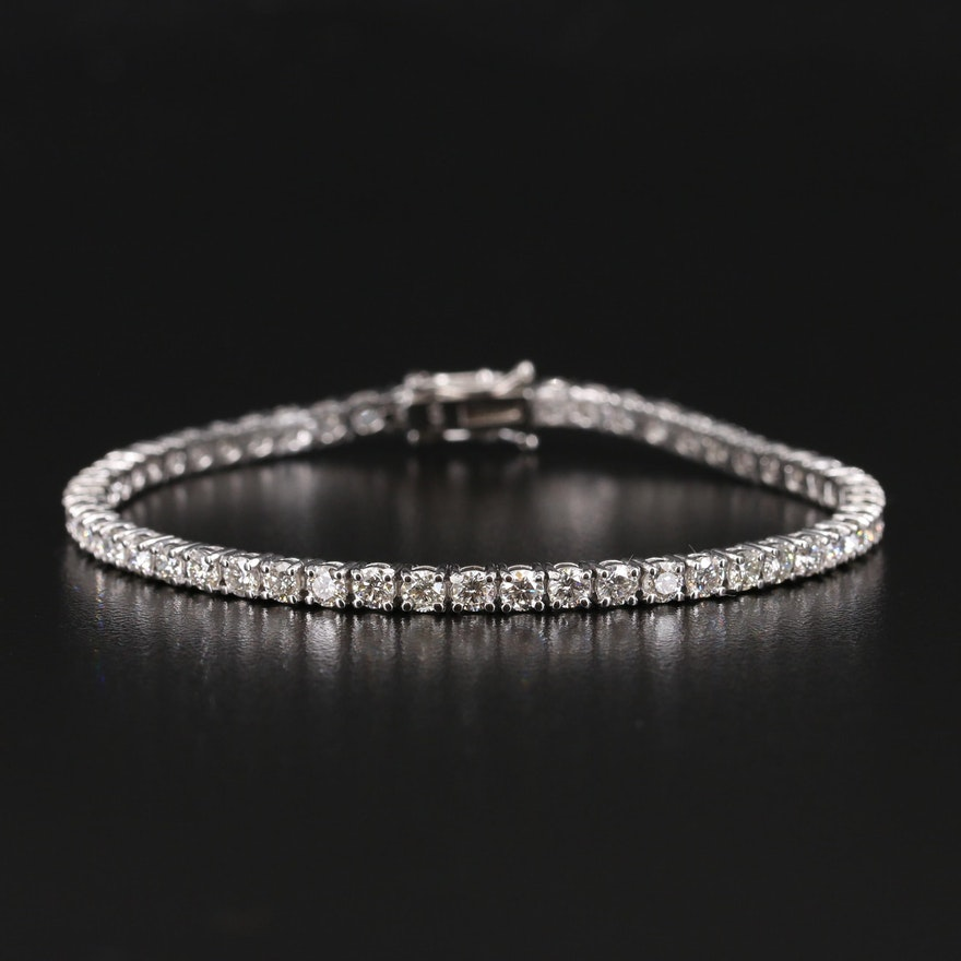 14K 8.00 CTW Diamond Line Bracelet