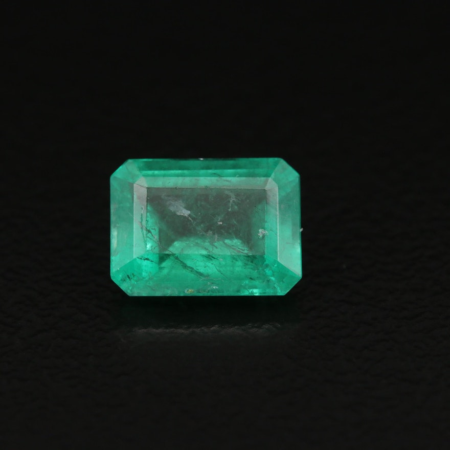 Loose 1.43 CT Emerald