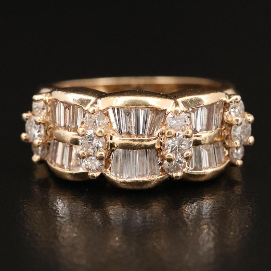14K 1.50 Diamond Ring