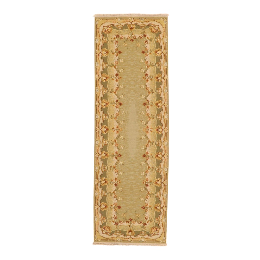 2'7 x 8'1 Handwoven Sino-Persian Tabriz Carpet Runner, 2000s