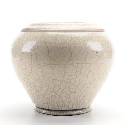 Raku Style Cache Pot Planter