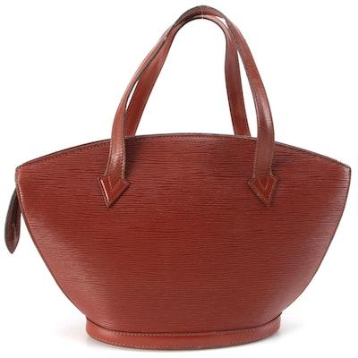 Louis Vuitton Saint Jacques PM in Kenyan Fawn Epi/Smooth Leather