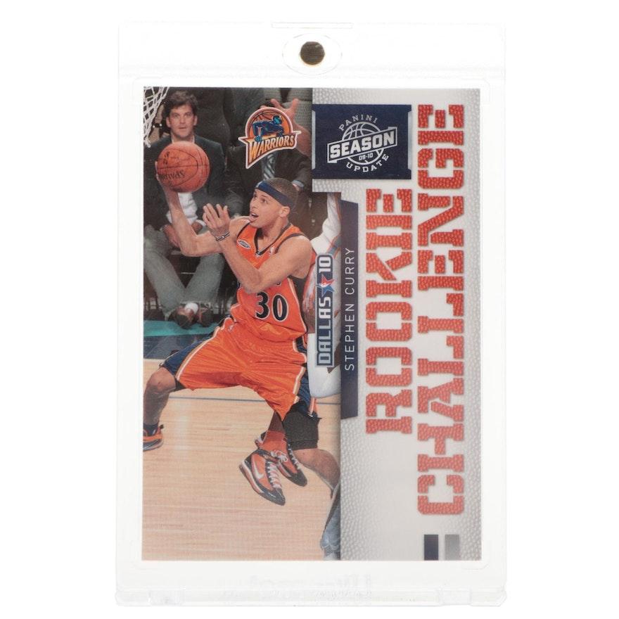 "2010 Stephen Curry Panini ""Rookie Challenge"" NBA Basketball Card"