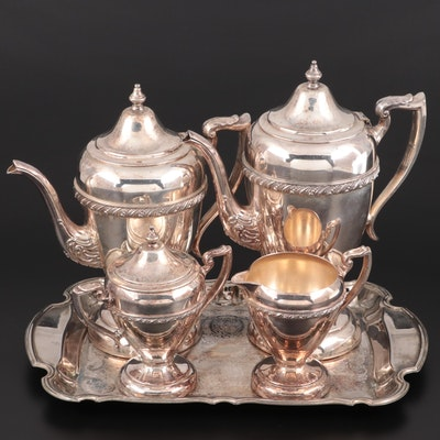 Hartford Sterling Co. Silver Plate Tea and Coffee Service, Early 20th Century