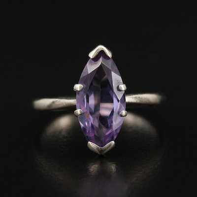 10K Color-Change Sapphire Ring