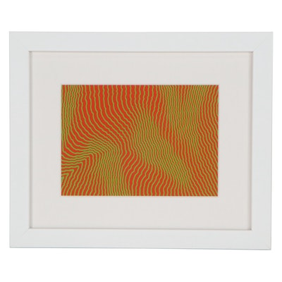 Op Art Serigraph after Henry Pearson