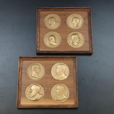 U.S. Mint Commemorative Bronze Presidential Medals