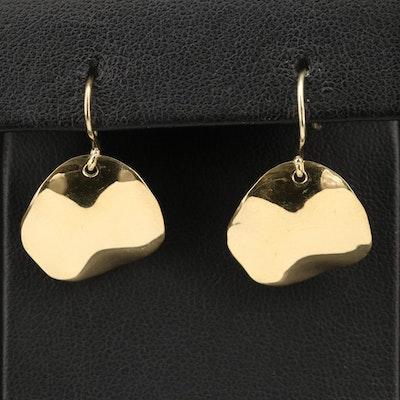 Ippolita 18K Wavy Disk Earrings