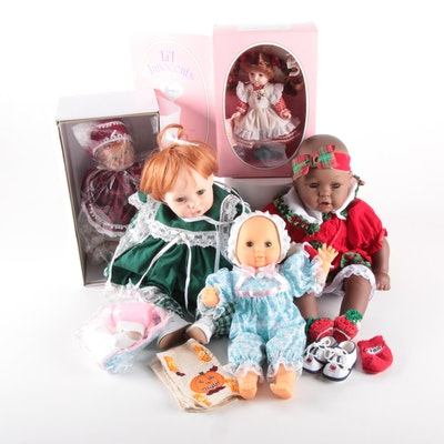 "Effanbee ""Little Innocents"" and Other Dolls, Late 20th Century"