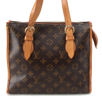 Louis Vuitton Popincourt Haute in Monogram Canvas and Vachetta Leather