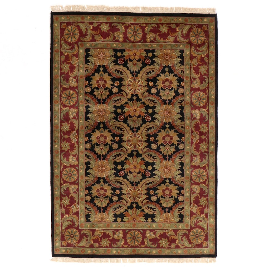 6'2 x 9'6 Hand-Knotted Indo-Persian Tabriz Rug, 2000s