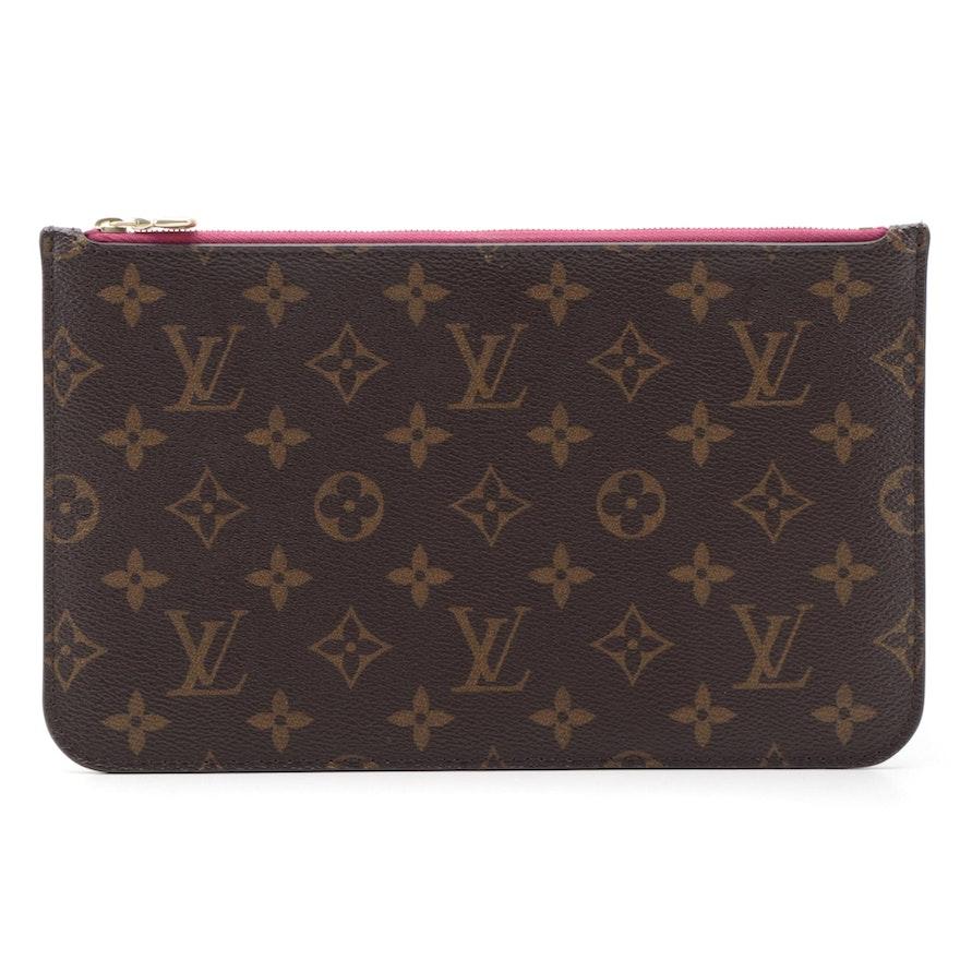 Louis Vuitton Neverfull Accessory Pochette in Monogram Canvas