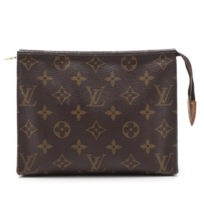 Louis Vuitton Pochette Toilette 19 in Monogram Canvas